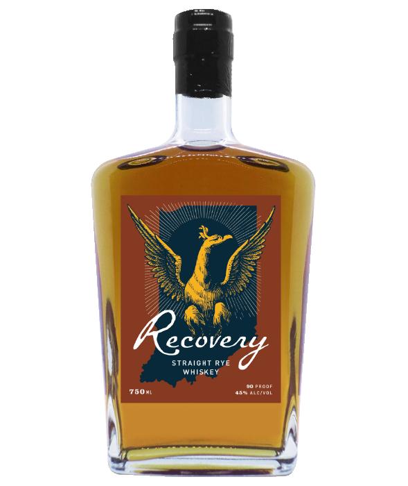 Recovery Rye bottle